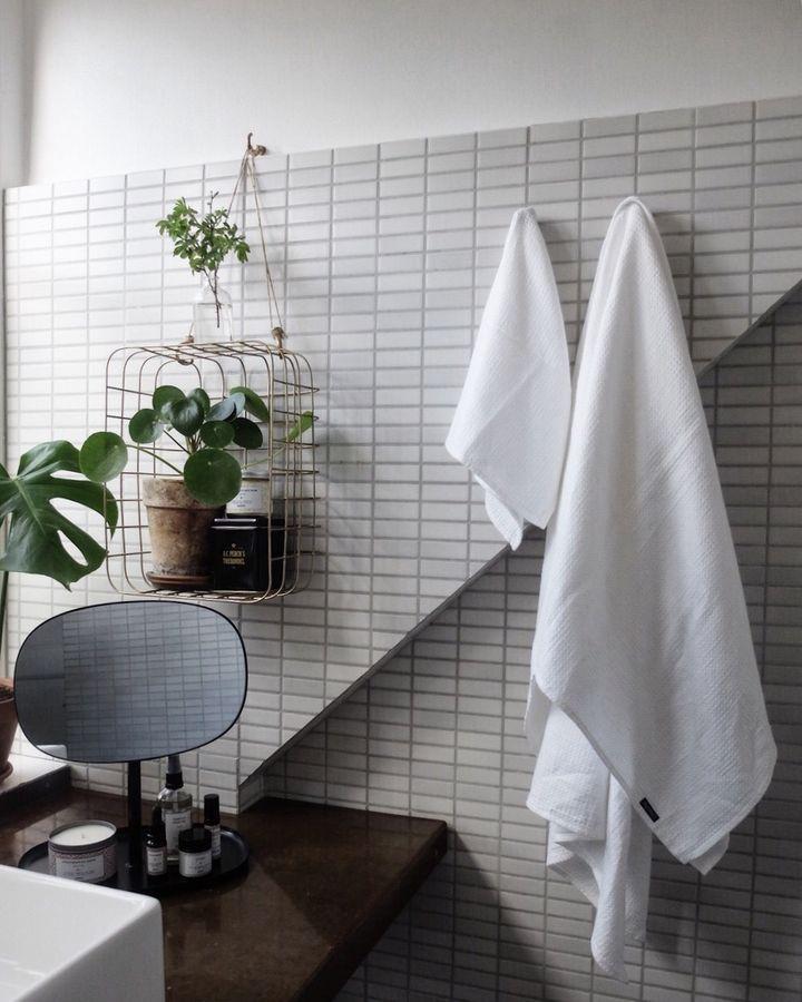 169 best bathroom 3 images on Pinterest Bathroom, Bathroom - fliesen für küchenwand