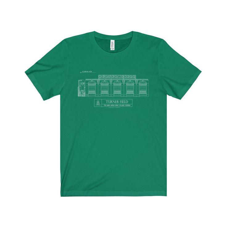 Turner Field Jersey Short-Sleeve Tee