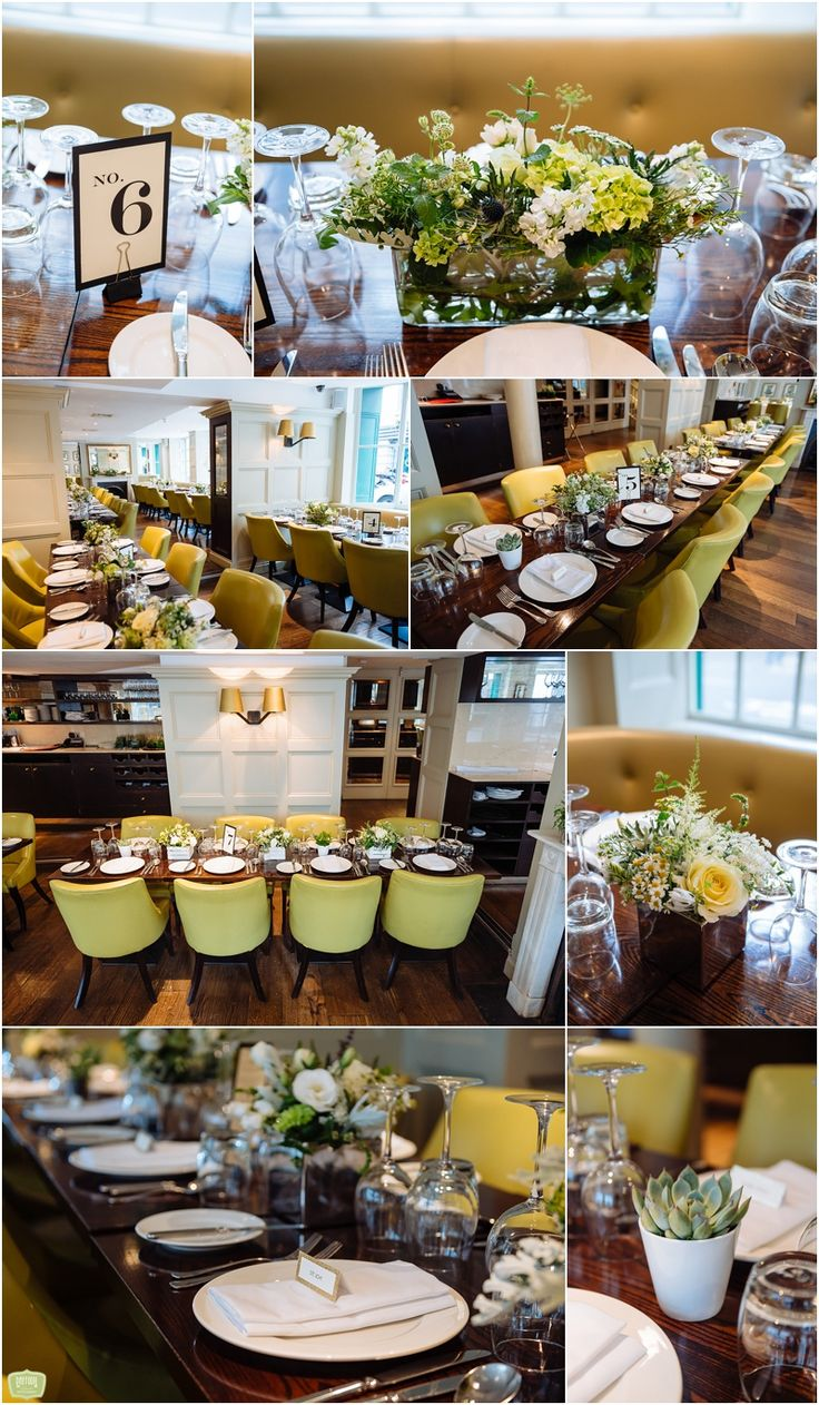 Wedding Reception Decor -   Daffodil Waves Photography - Chiswell Street Dining Rooms  http://www.daffodilwaves.co.uk/blog/chiswell-street-dining-rooms-wedding-sarah-and-james