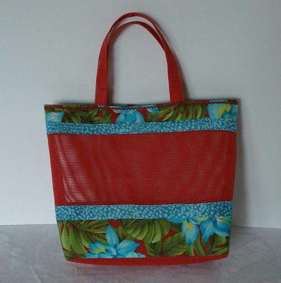 18 Best Beach Bags Mesh Images On Pinterest Beach Bags