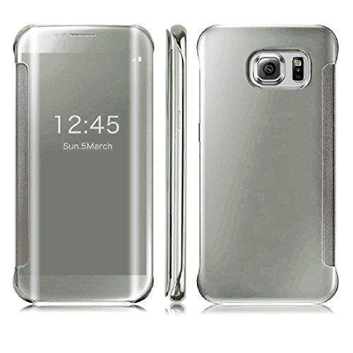 DN-TECHNOLOGY® Samsung Galaxy S7 EDGE Case-Samsung S7 EDGE Case ***All New Auto Sleep Wake Function *** Clear S view Window Flip Case - SILVER D & N http://www.amazon.co.uk/dp/B01ALWW478/ref=cm_sw_r_pi_dp_A5nRwb0EXDGXN