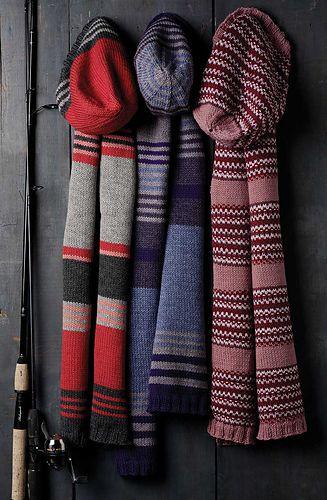 Mutsen met bijpassende sjaal