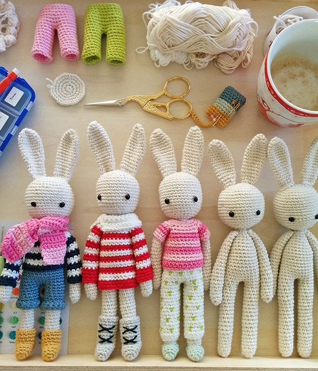Crochet pattern for bunnies