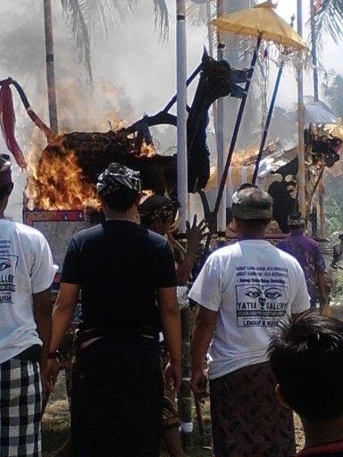 Ngaben di Desa Adat Negara tgl 8 Agustus 2014