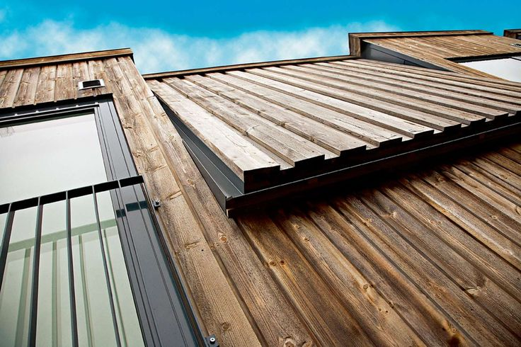 Vertical / batten board cladding