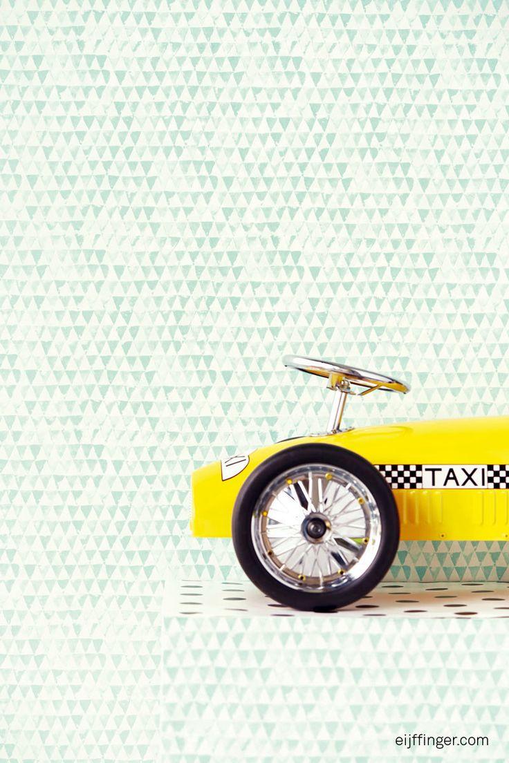 Eijffinger Tout petit 354082 | Groen Behang | Behang kleuren | Behang | behang & fotobehang op maat geproduceerd!