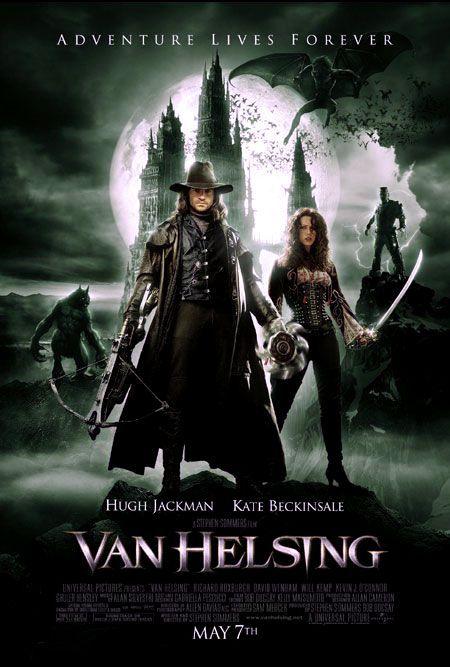 Van Helsing - 2004 - BRRip Film Afis Movie Poster