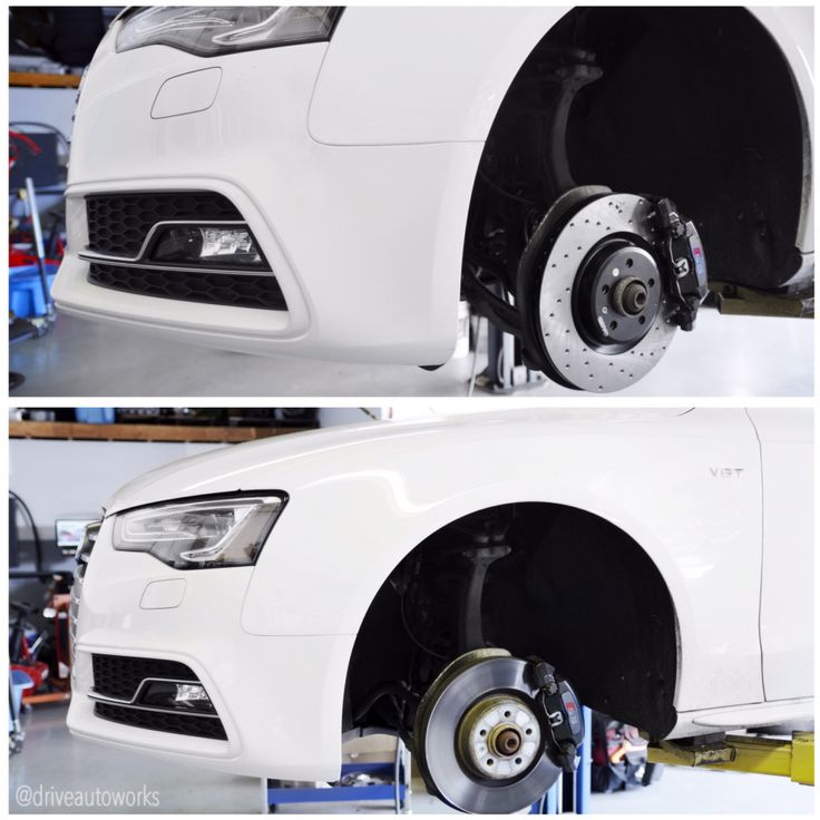 #b8 #audi #s5 in for a #stoptech brake pad and rotor upgrade. #perfromance #rotors and performance #pads to help this Audi stop a little better and in the end not much of a greater cost! #mods #brakes #brakeupgrade #stoppingpower #teamdaw #daw #driveautoworks #tristate #ny #northeast #nj #mountainside #clifton #friendlyservice www.driveautoworks.com