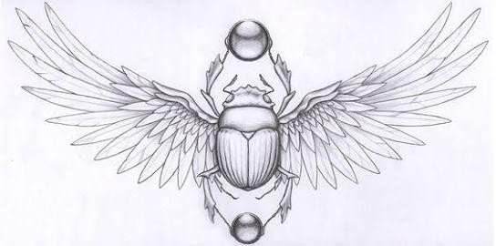 scarab beetle tattoo - Google Search
