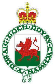 Royal badge of Wales 1953