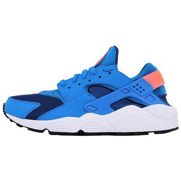 Men's Nike Air Huarache Run Running Shoes Light Beige Brown Crimson