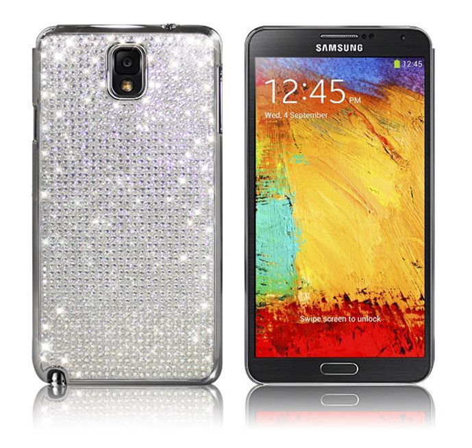 Galaxy Note 3 Dreamplus Persian Crystal Cubic Bling Case - Silver
