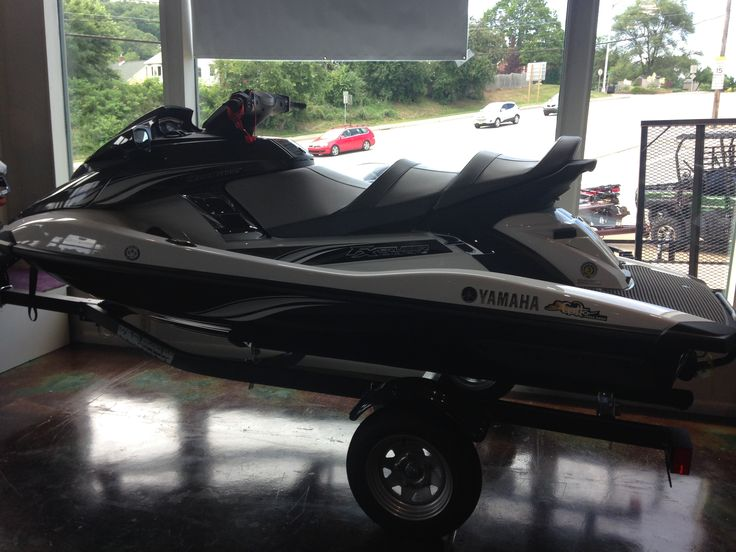 WE ARE NOW A SUPPLIER OF YAMAMA WATERCRAFT!  We are super excited to have the brandnew Jet Ski's in as well.  Summer is here and this beauty can be yours today! #yamaha #jetski #white #black #brandnew #newarrival #supplier #gatto #tarentum #excited #watercraft