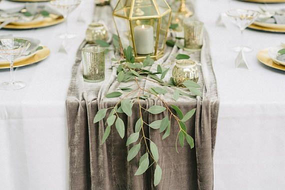 The Most Beautiful And Luxurious Velvet Table Runners We Have The