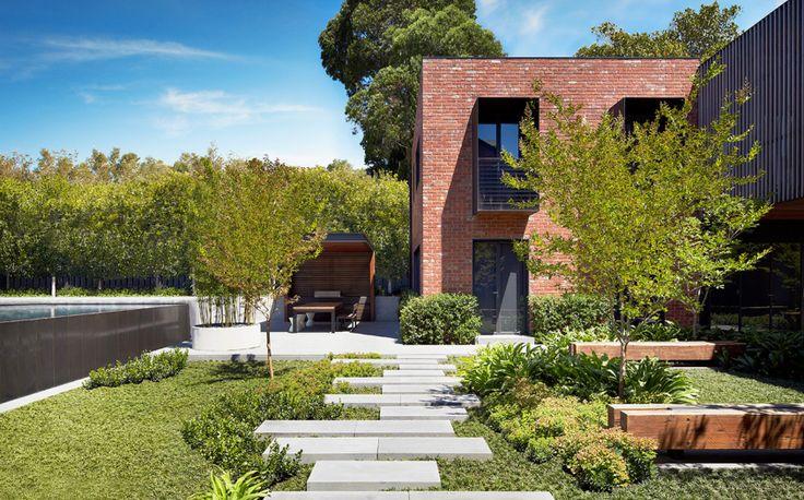 By jack merlo photo peter carke tuinen voortuin pinterest tuinen siergrassen en - Moderne landschapsarchitectuur ...
