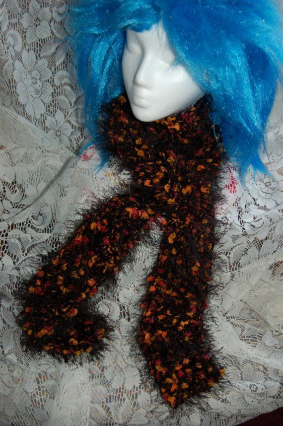 Fancy Skinny Black Fun Scarf by OnceUponAYarn on Etsy, $22.00Black Fun, Skinny Black, Fun Scarf, Etsy Shops, Fancy Skinny