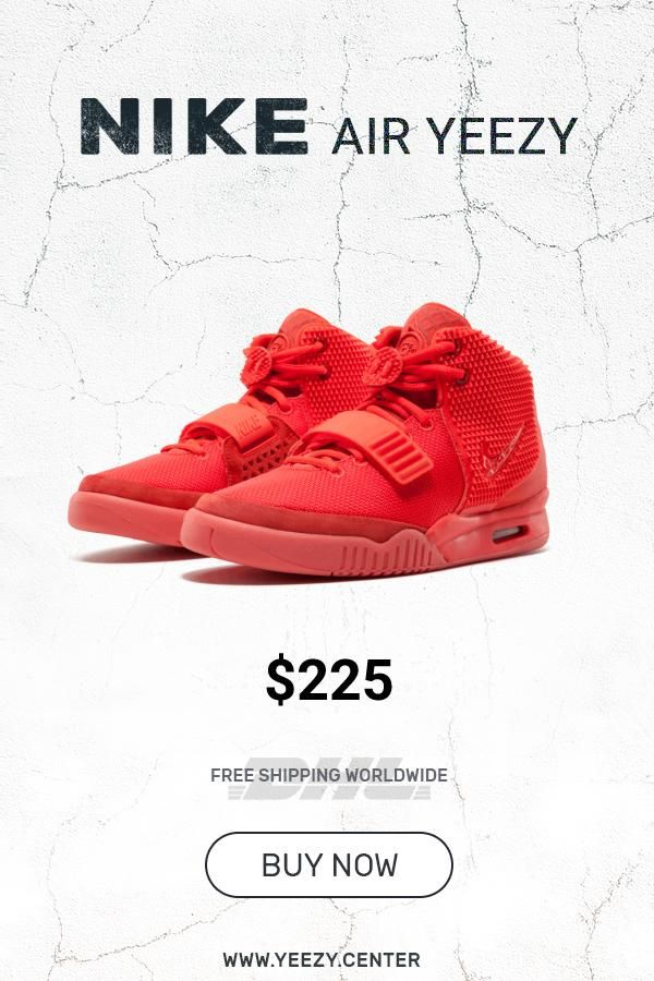 sneakers for cheap 4005d 8c7e2 Mens size new Nike Air Yeezy PS Red October copy sneakers fashion shoes