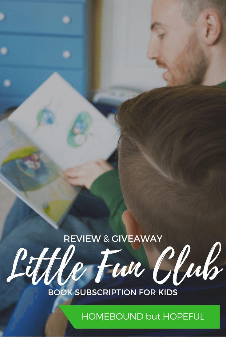Little Fun Club | Children's Books | Kid Lit | Kid's Subscription Box | Giveaway