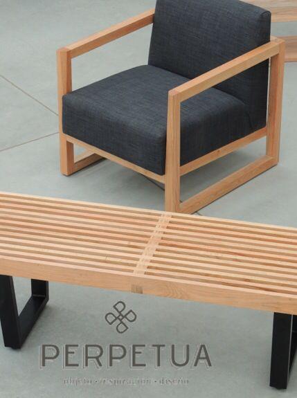 ®Perpetua Muebles #perpetua #muebles #bancas #sillas #madera #mesa Más