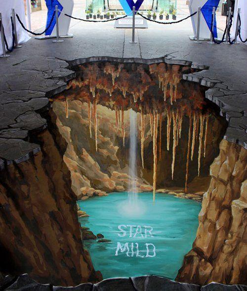 Utiliser la rue pour faire passer un message on connaissait un peu. Pourtant, certains artistes plus que talentueux, se servent de l'asphalte comme d'une toile géante et dans un but essentiellement ar