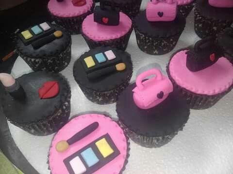 Cupcake maquillaje