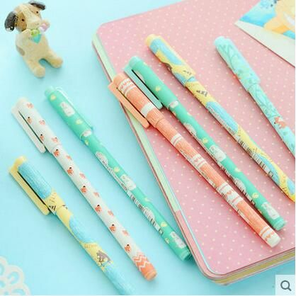 Cheap pen work, Buy Quality pen logo directly from China pen art Suppliers:  Length : 14.2cm   Point : 0.38mm   Ink : black     Gel pen Crown dream Dot & Dots Kawaii Stationery Caneta No