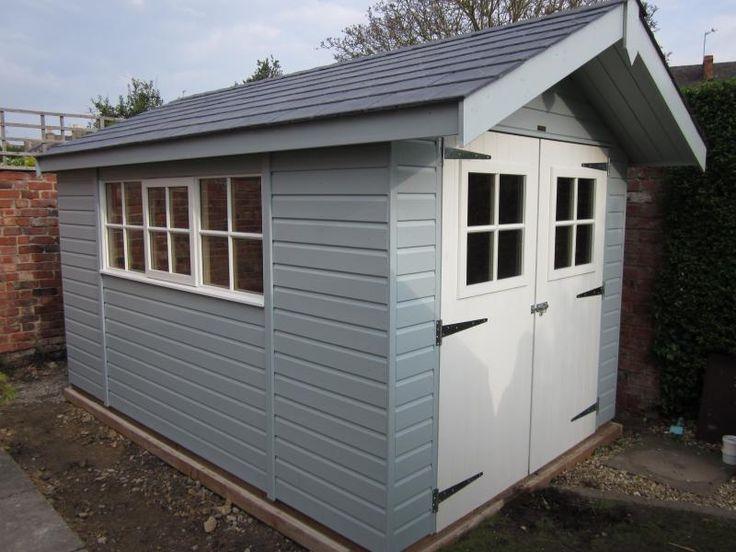 Garden Sheds Essex 143 best customer garden sheds images on pinterest | garden sheds
