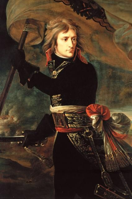Napoleon Bonaparte: History, Napoleon Bonaparte, Arcole Bridge, French Revolution, Bridges, Painting