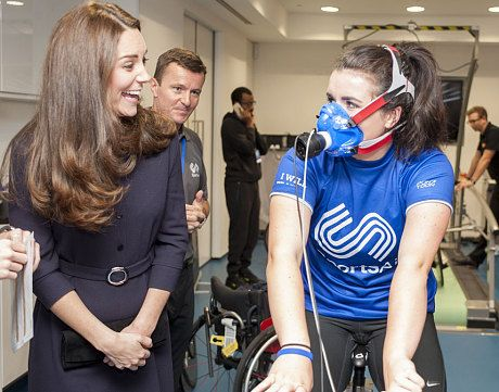 http://www.telegraph.co.uk/news/uknews/kate-middleton/11226289/Duchess-of-Cambridge-shows-hint-of-a-baby-bump-at-SportsAid-workshop.html