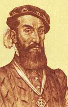 Spanish explorer Alvar Nuñez Cabeza de Vaca