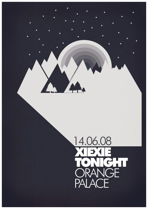 25 Seriously Artistic Band Posters | PSDFan