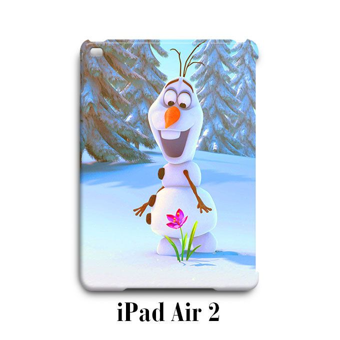 Olaf on Flower Frozen iPad Air 2 Case Cover