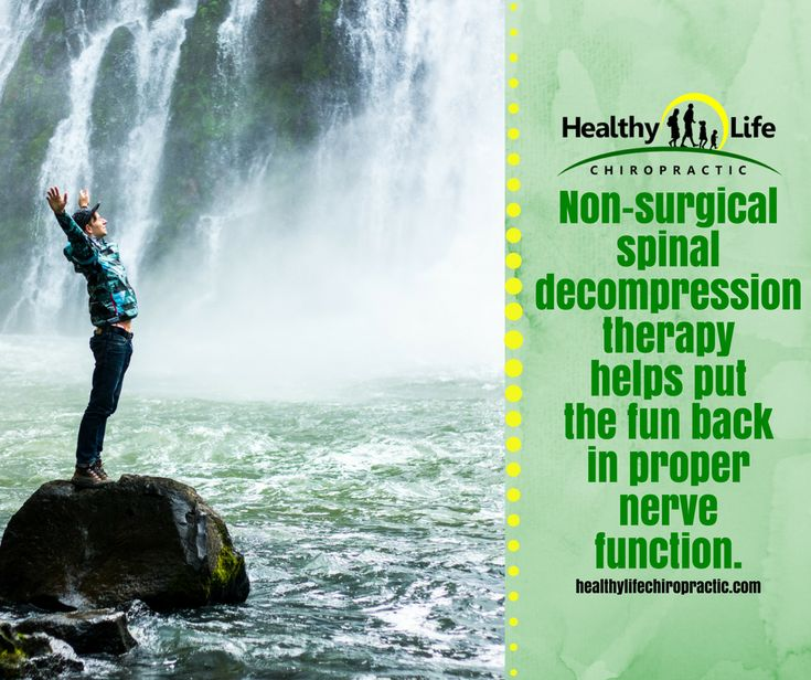 Non-surgical spinal decompression therapy helps put the fun back in proper nerve function.