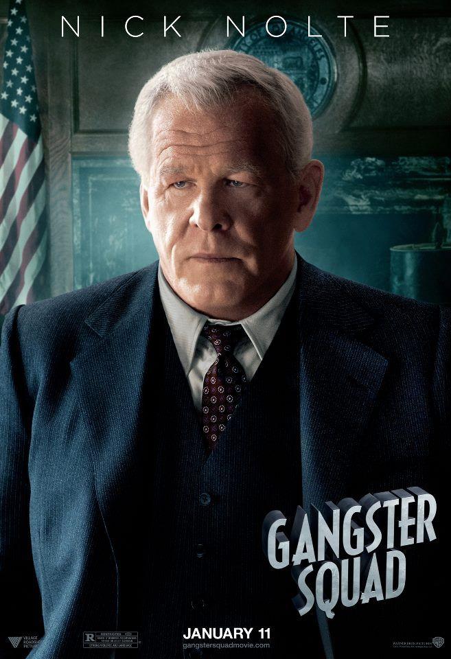 Nick Nolte - GANGSTER SQUAD | Gangster squad, Gangster