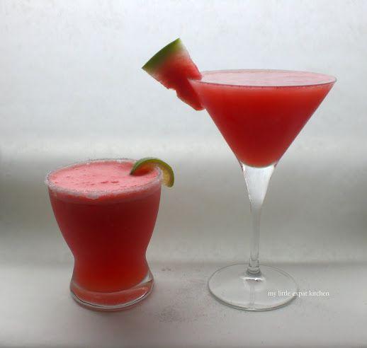 My Little Expat Kitchen: Watermelon + Alcohol x 2 = ?