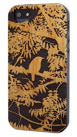 These cool iPhone cases are made from a durable paper composite that has earned Forest Stewardship Council/Rainforest Alliance certification!