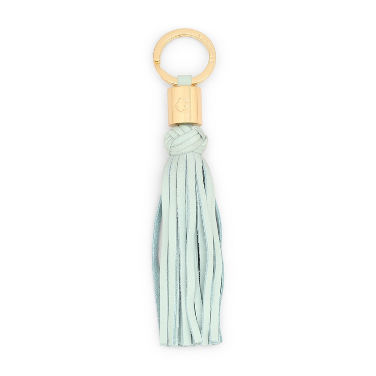 C.Wonder leather tassel key ring