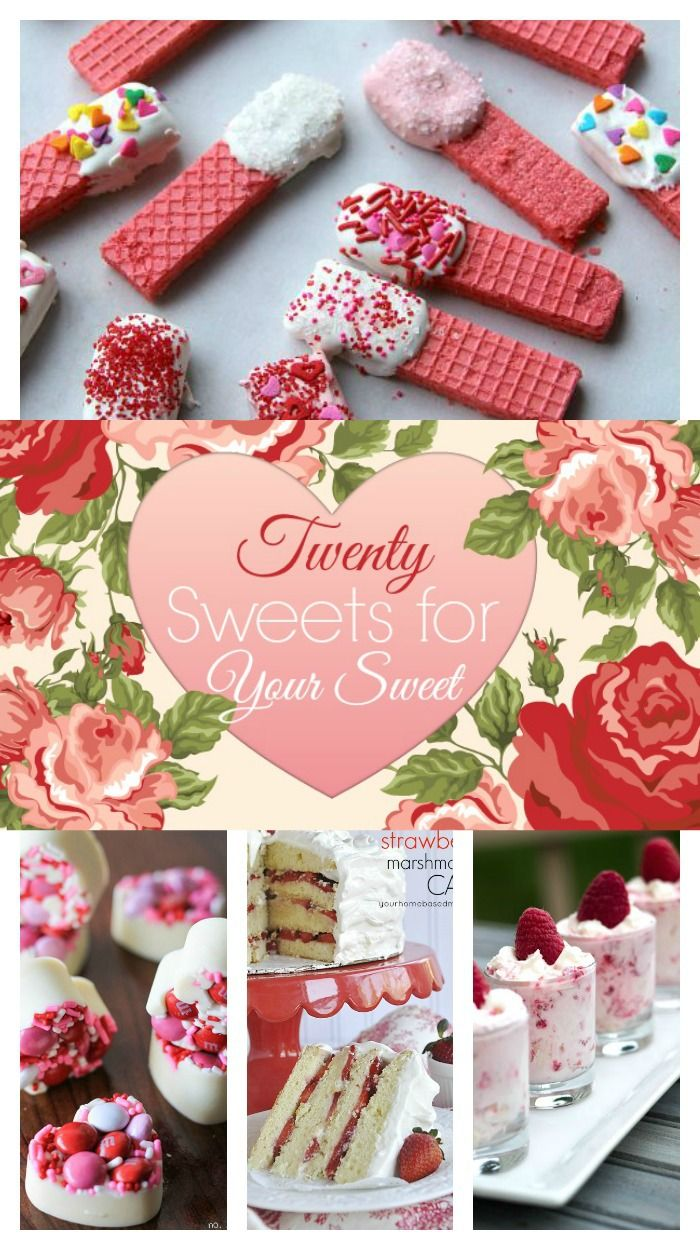 Great collection of Valentine Sweet Treats