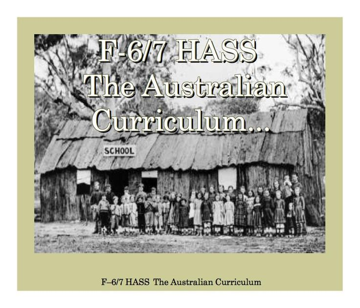 Link to the Australian Curriculum website. Learning Area: F-6/7 Humanities and Social Sciences [HASS] v8.2