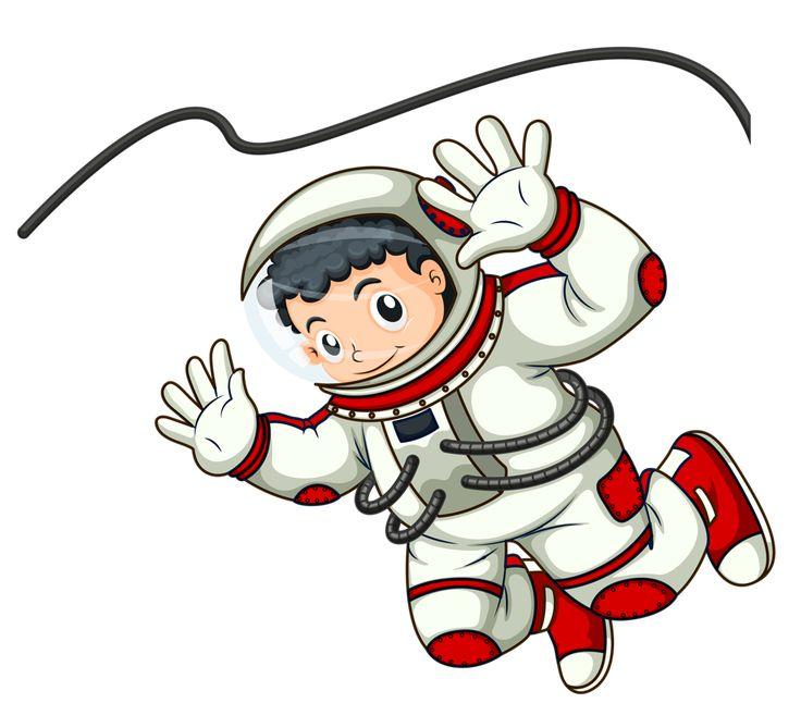 Картинки мультяшных космонавтов