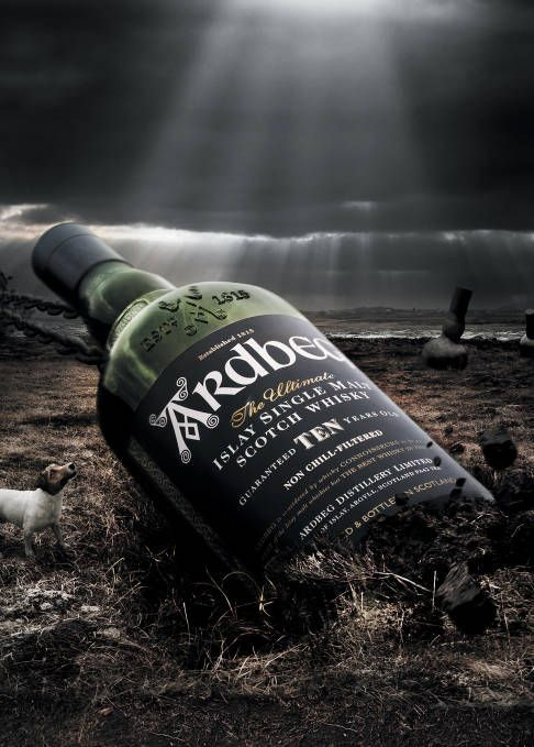 The unique peaty, smoky and surprisingly sweet flavor of Ardbeg's single malt evokes the wild moors of the island of Islay – LVMH