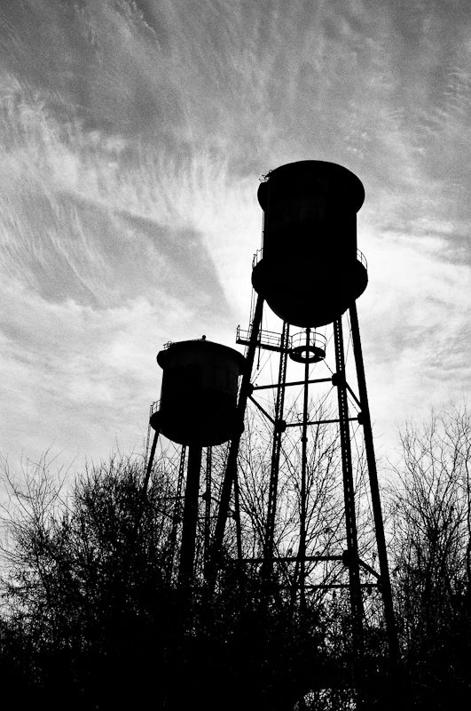I'm doing this one of the Delphos Kansas water tower this summer