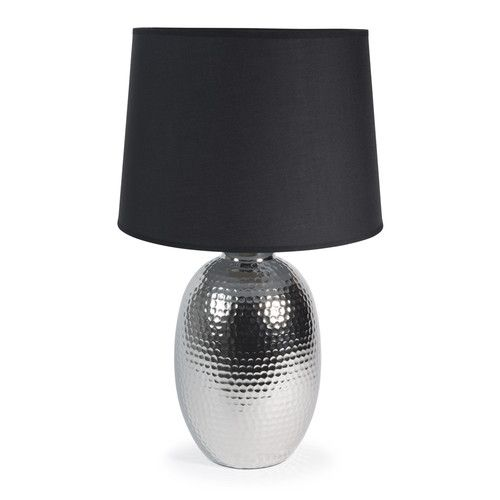 360 best d coration int rieur images on pinterest - Lampe de chevet noir et argent ...