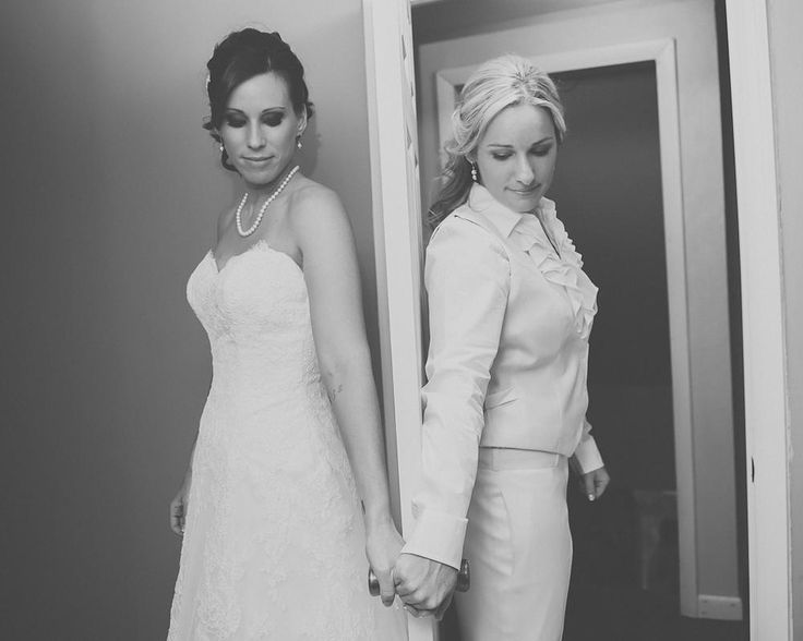 """I love this idea. """"Seeing"""" each other without actually seeing each other before walking down the aisle"""
