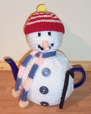 frosty tea cosy knitting pattern