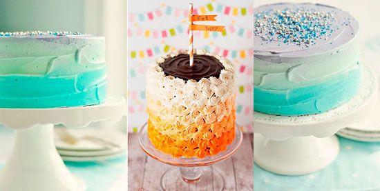 торт омбре #wedding #weddingcake #blue #ombre #свадебныйторт #свадьба #омбре #торт