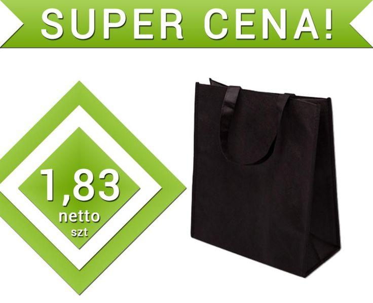 Torba wigofilowa torebka czarna 30x15x35cm OKAZJA