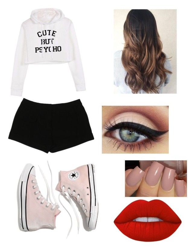 """""""Holly 2 (me)"""" by crushingholls on Polyvore featuring Express, Madewell and Lime Crime"""