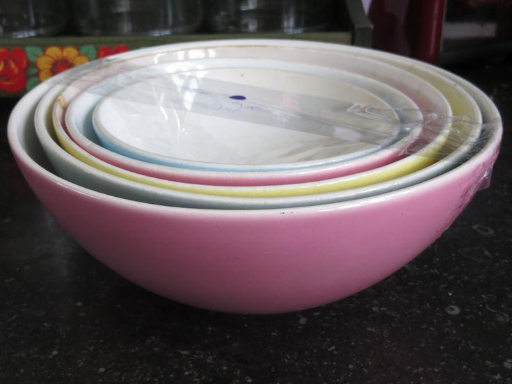 Nestkommen van Boch super handig in de keuken