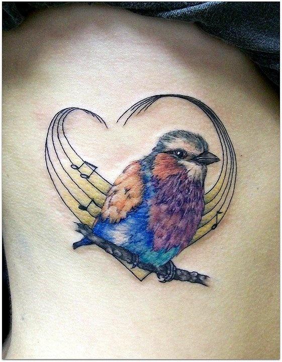 cute Songbird, minus the music/heart